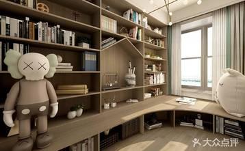 经济型90平米三混搭风格书房装修图片大全
