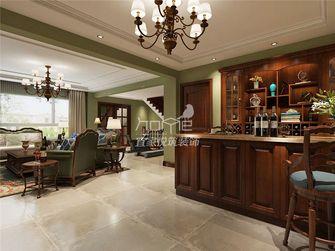 140平米四室一厅美式风格餐厅效果图