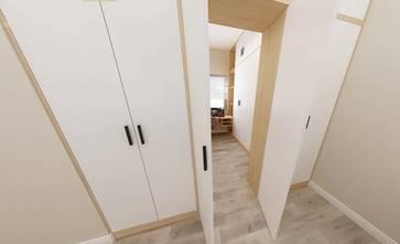 90平米三现代简约风格玄关图片