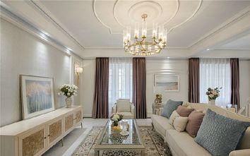 豪华型100平米欧式风格客厅设计图
