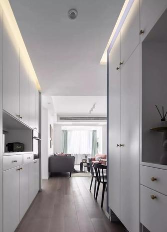 5-10万90平米三室两厅现代简约风格玄关图片
