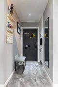 90平米三室一厅法式风格玄关装修案例
