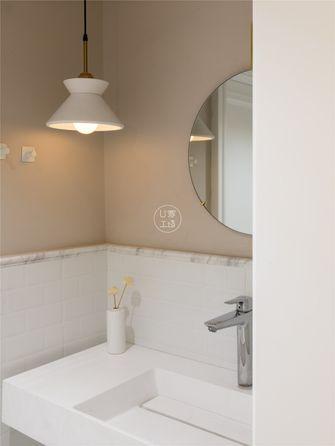 富裕型90平米三室两厅日式风格卫生间装修图片大全