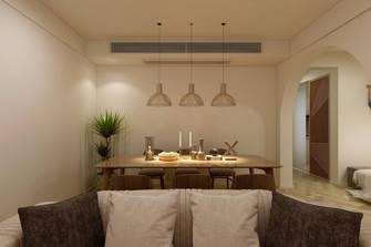 70平米复式日式风格餐厅装修效果图