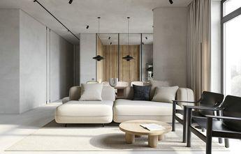 富裕型一室一厅田园风格客厅装修效果图