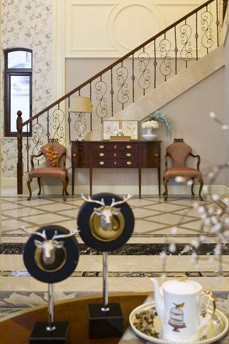 20万以上140平米别墅法式风格楼梯间图片