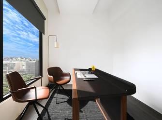 豪华型120平米三室两厅工业风风格书房效果图