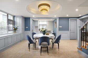 豪华型140平米别墅美式风格餐厅图片