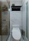 经济型30平米以下超小户型现代简约风格卫生间欣赏图