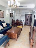 15-20万美式风格客厅装修效果图