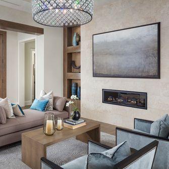 经济型100平米三室一厅地中海风格客厅图片大全