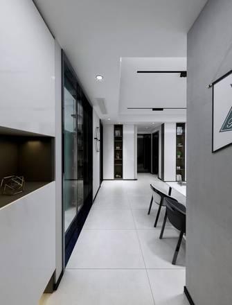 20万以上110平米三室两厅工业风风格走廊图片