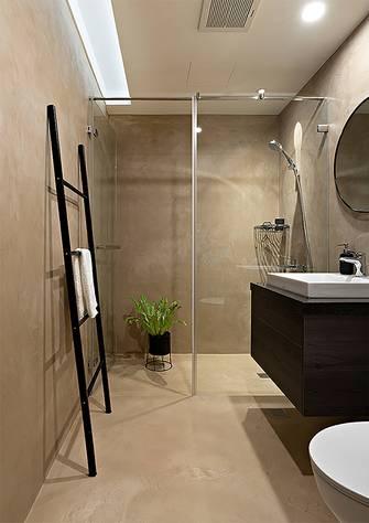 富裕型110平米公寓欧式风格卫生间效果图
