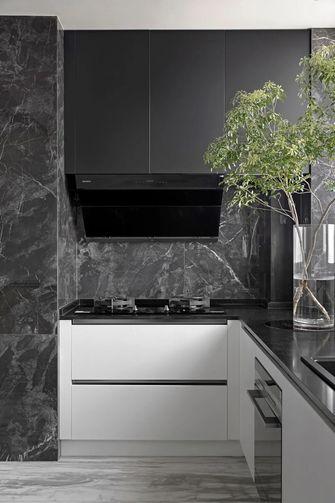 富裕型120平米三室两厅法式风格厨房装修效果图