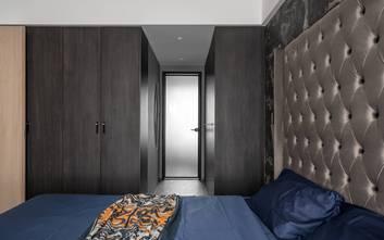 经济型110平米三室一厅美式风格卧室设计图