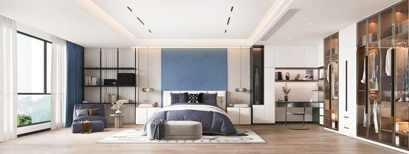 5-10万140平米四室两厅现代简约风格卧室装修案例