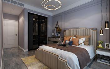 80平米三室一厅轻奢风格卧室欣赏图