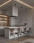 5-10万70平米一室一厅混搭风格厨房装修效果图