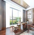 10-15万110平米三室两厅中式风格阳台装修效果图