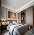 富裕型140平米三室两厅轻奢风格卧室装修图片大全
