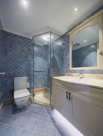 120平米三美式风格卫生间设计图