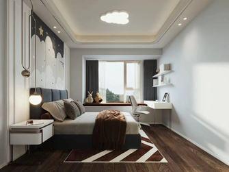 140平米三室一厅中式风格青少年房装修图片大全