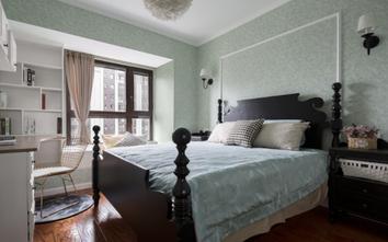 富裕型田园风格卧室欣赏图