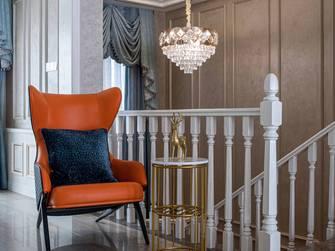 豪华型140平米复式美式风格楼梯间效果图