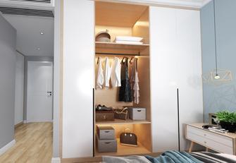 20万以上120平米四室两厅北欧风格衣帽间装修图片大全