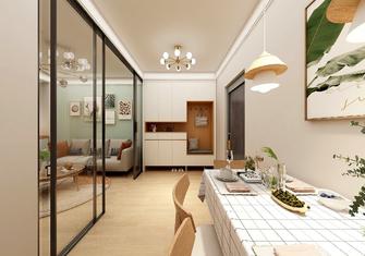 经济型50平米一室两厅日式风格餐厅装修案例