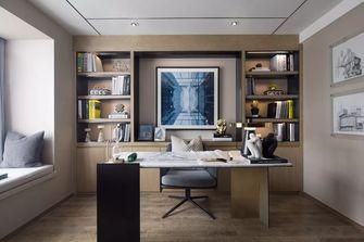 90平米现代简约风格书房图片大全
