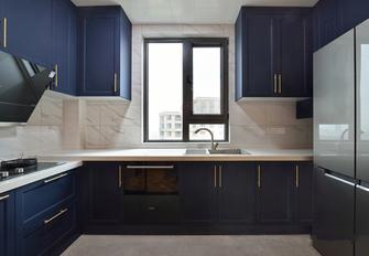 110平米三室两厅法式风格厨房图片