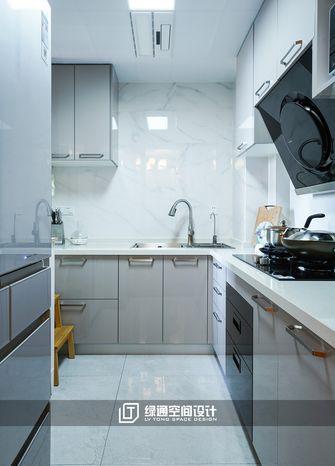 富裕型一室两厅中式风格厨房图片