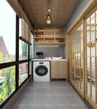 90平米三室两厅日式风格阳台图片大全