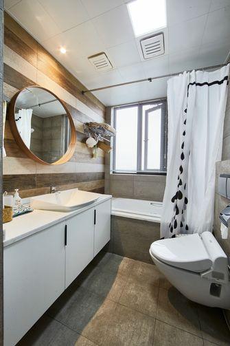 5-10万90平米三室两厅北欧风格卫生间装修图片大全