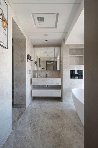 140平米现代简约风格卫生间设计图