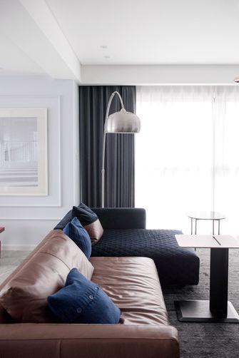 20万以上100平米复式欧式风格客厅图