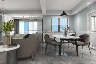 15-20万三室两厅现代简约风格餐厅欣赏图