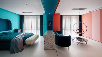 80平米一室一厅混搭风格客厅效果图