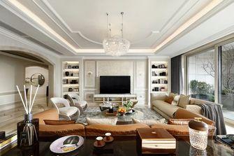 豪华型140平米四室一厅轻奢风格客厅图
