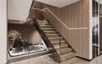 富裕型140平米四室一厅轻奢风格楼梯间效果图