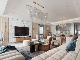 20万以上140平米复式混搭风格客厅装修案例