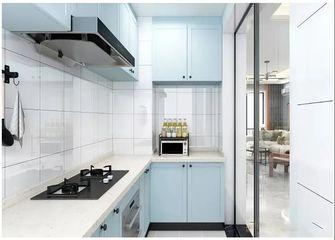 经济型60平米现代简约风格厨房欣赏图
