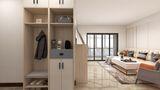 100平米三室两厅现代简约风格玄关图