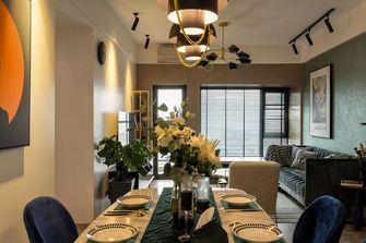 80平米新古典风格餐厅效果图