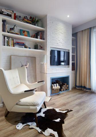 80平米三混搭风格客厅装修案例