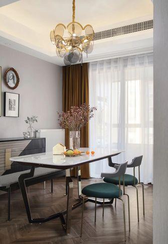 120平米三室一厅轻奢风格餐厅效果图