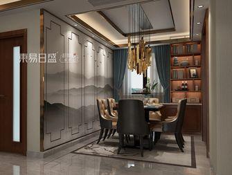 140平米三室两厅中式风格餐厅效果图