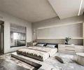 20万以上140平米工业风风格卧室欣赏图