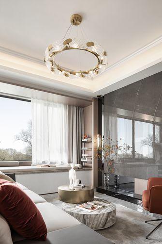 经济型三室两厅轻奢风格阳台效果图